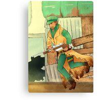 sniper companion Canvas Print