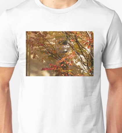 Shapes and Patterns - Enjoying the Colorful Leaves of Fall Unisex T-Shirt