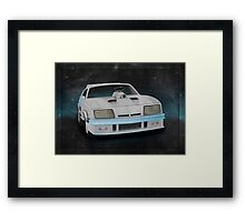 Interceptor Time Machine Framed Print