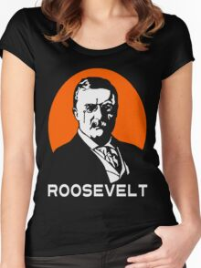 TEDDY ROOSEVELT-2 Women's Fitted Scoop T-Shirt