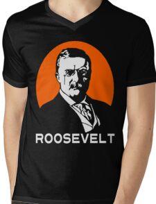 TEDDY ROOSEVELT-2 Mens V-Neck T-Shirt
