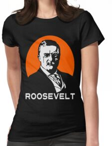 TEDDY ROOSEVELT-2 Womens Fitted T-Shirt