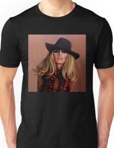 Brigitte Bardot Painting Unisex T-Shirt