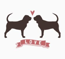 Bloodhounds Love Baby Tee