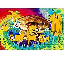 Adventure Time Bacon Pancakes Photographic Print