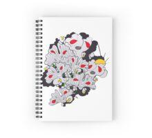 Ginkgo Pop  Spiral Notebook