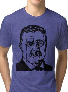 THEODORE ROOSEVELT Tri-blend T-Shirt