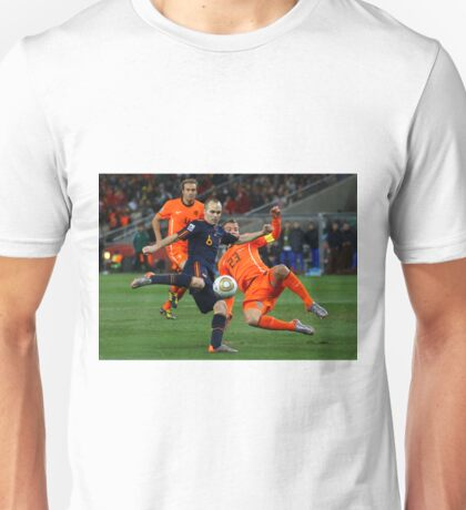 INIESTA - FIFA WORLD CUP 2010 Unisex T-Shirt