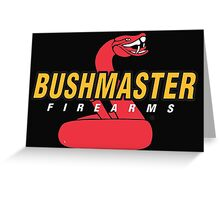 Bushmaster Firearms Logo Greeting Card
