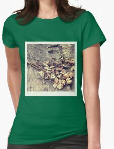 In the rain - two Womens Fitted T-Shirt