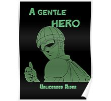 Anime - a gentle hero Poster