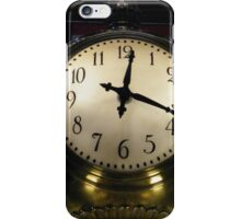 Classic Clock, Grand Central Terminal, New York City iPhone Case/Skin