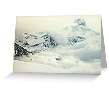 Frozen planet Greeting Card