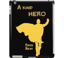 Anime - a kind hero iPad Case/Skin
