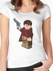 Malcolm Reynolds Minifigure Women's Fitted Scoop T-Shirt