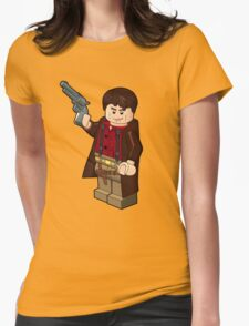 Malcolm Reynolds Minifigure Womens Fitted T-Shirt