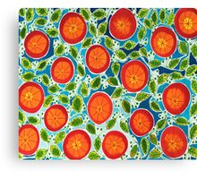 Blood Oranges Canvas Print