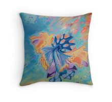 Flying by now Throw Pillow