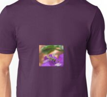 Insect on Purple Flower Unisex T-Shirt