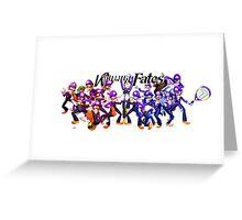 Waluigi Fates Greeting Card