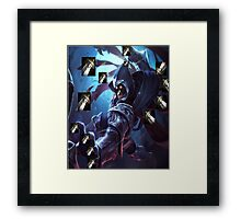 TALON'S LONGSWORDS! League of Legends  Framed Print