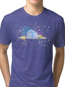 Seashells & Coral Watercolor Tri-blend T-Shirt