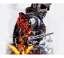 Metal Gear Solid V Warparty Photographic Print