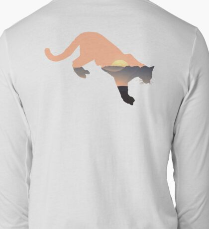 Lion of the Mountains Long Sleeve T-Shirt