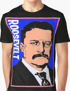 THEODORE ROOSEVELT-COLOR Graphic T-Shirt