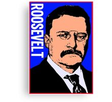 THEODORE ROOSEVELT-COLOR Canvas Print