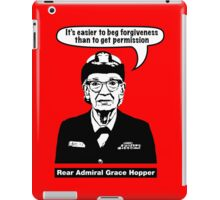 Grace Hopper iPad Case/Skin