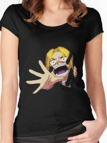 Edward Elric Full Metal Alchemist Women's Fitted Scoop T-Shirt