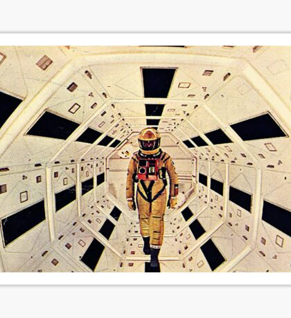Kubrick's Space Odyssey Sticker