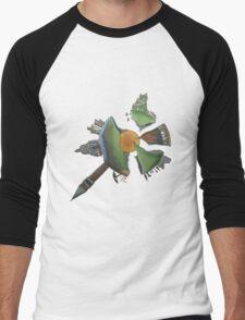 Pint Size Planet (Italy) Men's Baseball ¾ T-Shirt