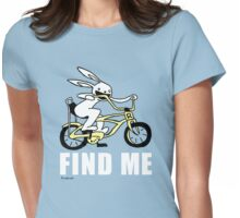 Rabbit- Find Me Womens Fitted T-Shirt