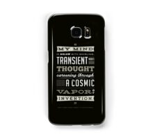 Funny Classic Movie Quote typography from Blazing Saddles by Harvey Korman Samsung Galaxy Case/Skin