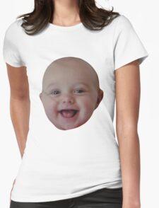 Gachimuchi baby head | Aka-san Womens Fitted T-Shirt