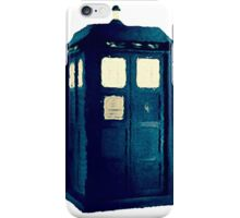 Olde Fashioned TARDIS iPhone Case/Skin