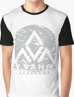 ALVANCA - LEVERAGE Graphic T-Shirt