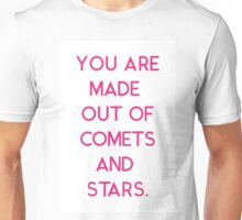 Comets and Stars Unisex T-Shirt
