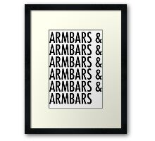 Armbars & Armbars & Armbars Framed Print