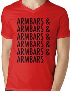 Armbars & Armbars & Armbars Mens V-Neck T-Shirt
