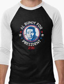 bundy president Men's Baseball ¾ T-Shirt