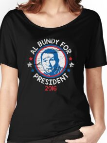bundy president Women's Relaxed Fit T-Shirt