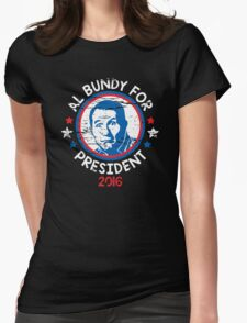 bundy president Womens Fitted T-Shirt