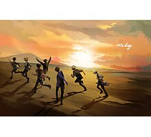 BTS: Infinite Days Photographic Print