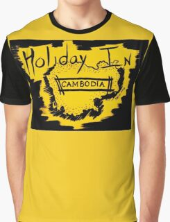 Holiday in Cambodia Graphic T-Shirt