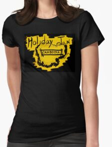 Holiday in Cambodia Womens Fitted T-Shirt