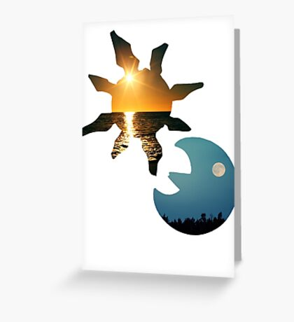 Sun & Moon Greeting Card
