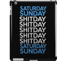 standard week iPad Case/Skin